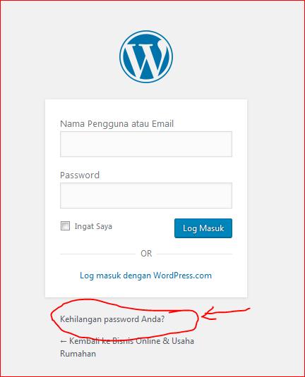 cara setting wordpress