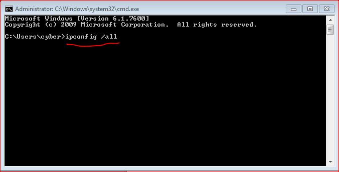 Cara Mengetahui MAC Address di komputer Dengan Mudah Lewat CMD