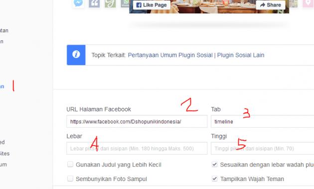 Cara Mudah Dan Aman Memasang Fanspage Facebook Di WordPress