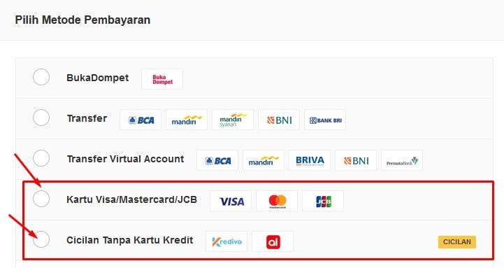 cara kredit di bukalapak online