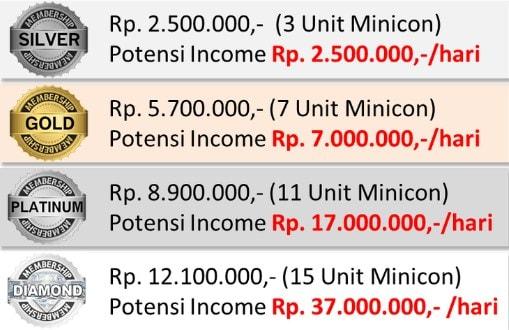 bisnis minicon
