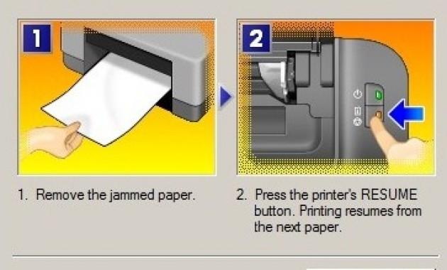 print cannon IP 2770 tidak mencetak paper is jammed, blink 3 x