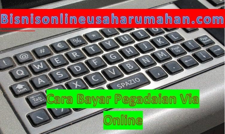 bayar pegadaian online