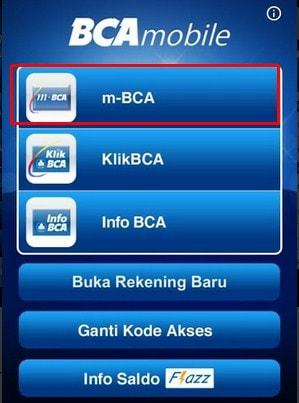 cara transfer menggunakan m-banking bca