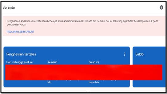 Cara pasang File ads.txt di wordpress dan di blogger Pada Google Adsense