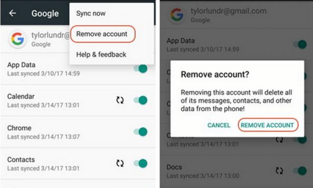 Cara melewati verifikasi akun google di android