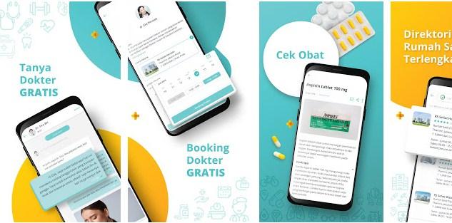 cara menggunakan dan booking dokter online dengan sehatq.com