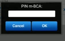 Terakhir jangan lupa masukkan pin di mobile banking bca nya