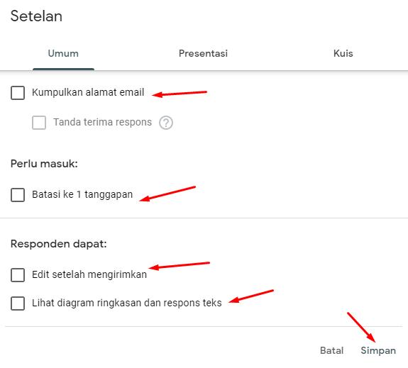 Cara Membuat Soal di Google Formulir