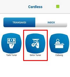 Hanya dengan aplikasi BCA mobile kita bisa setor dan tarik tunai di mesin ATM BCA