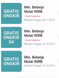 kode voucher gratis ongkir