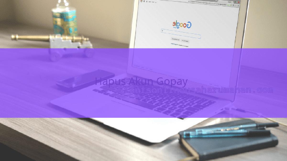 cara hapus akun gopay dari aplikasi yang terhubung