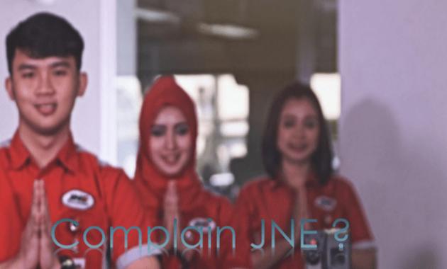 Cara complain JNE secara online