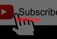 Cara Mendapatkan 1000 Subscriber Gratis Youtube Dalam 50 Hari