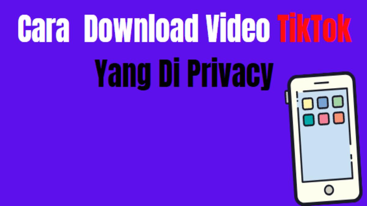 cara download video tiktok yang di private