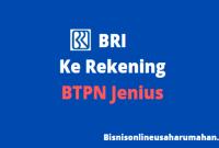 Transfer BRI ke BTPN