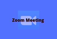 Cara Memulai Zoom Meeting di HP Android & Iphone