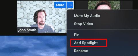 cara spotlight video di zoom lebih dari satu