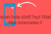 Paket Data Aktif Tapi Tidak Bisa Internetan ? Berikut Solusinya !