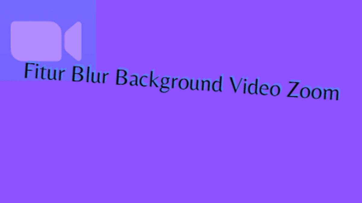 mengganti background video zoom