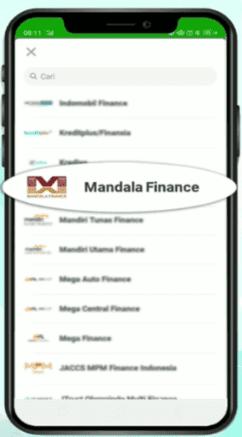 cara bayar tagihan mandala finance melalui bank