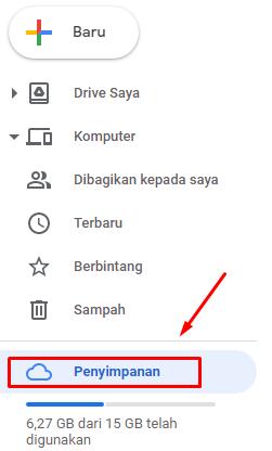 buka file cadangan wa di google drive