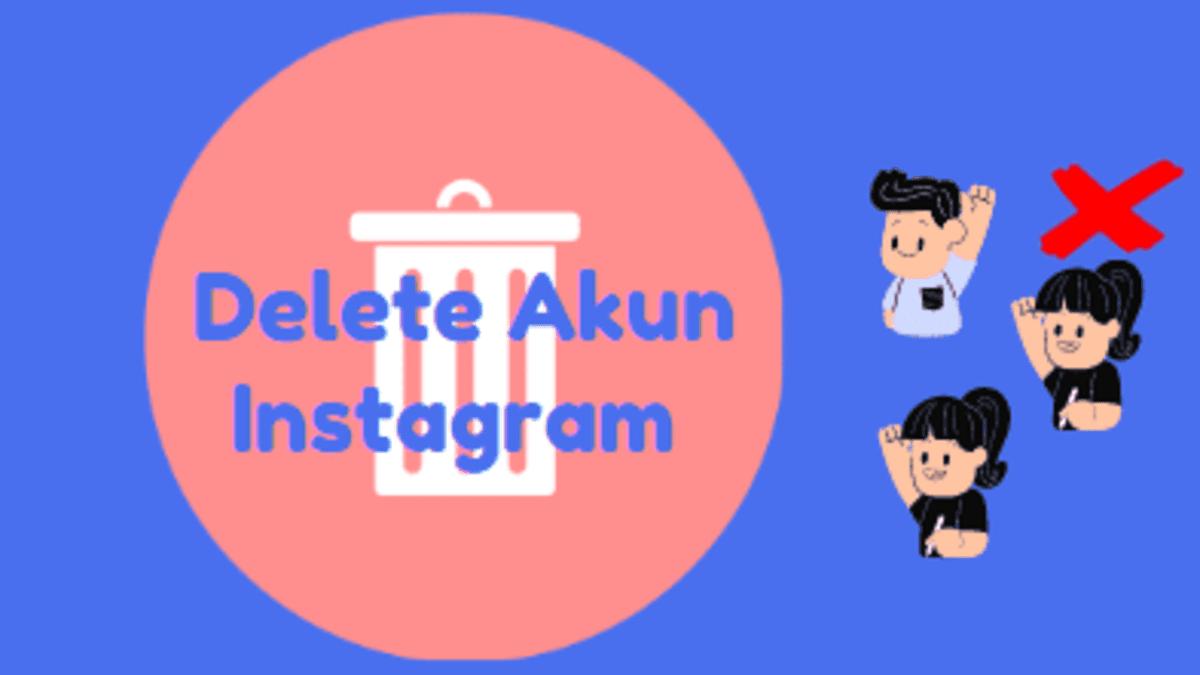 menghapus akun instagram