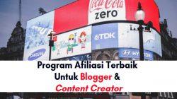 Program afiliasi terbaik di Indonesia untuk blogger dan conten creator youtube