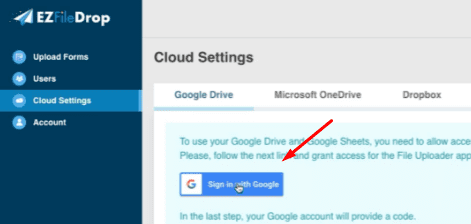 upload file ke google drive tanpa login