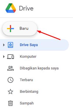 cara upload file di google drive lewat pc