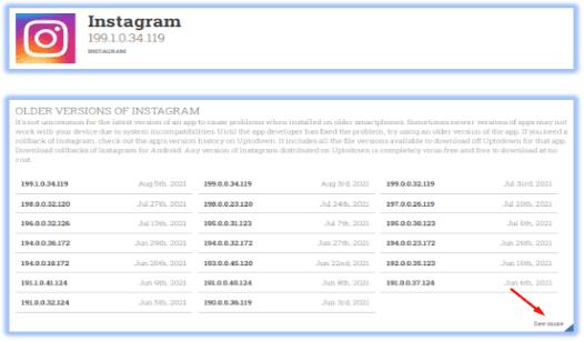 download instagram versi lama