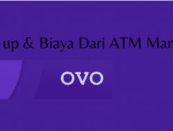 Cara & Biaya Top Up Ovo Di ATM Mandiri Lengkap Dengan Gambar